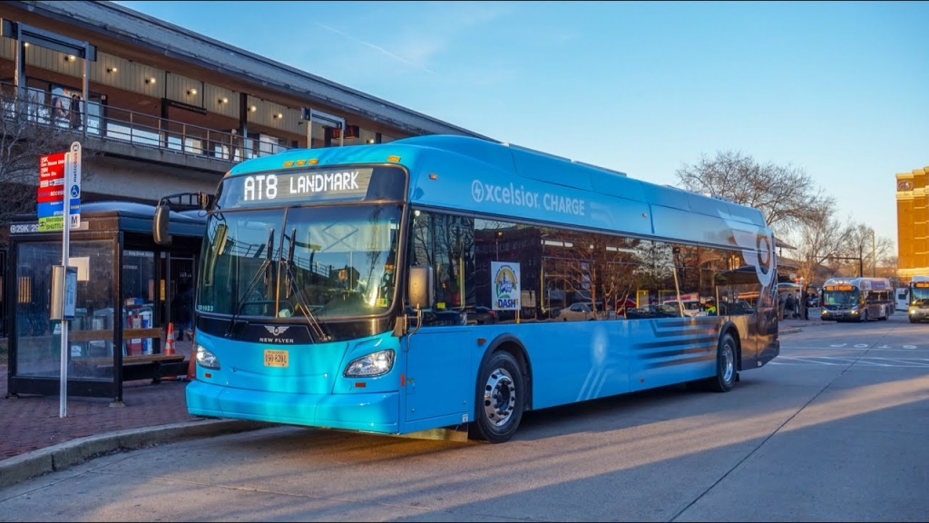 New Flyer electric buses