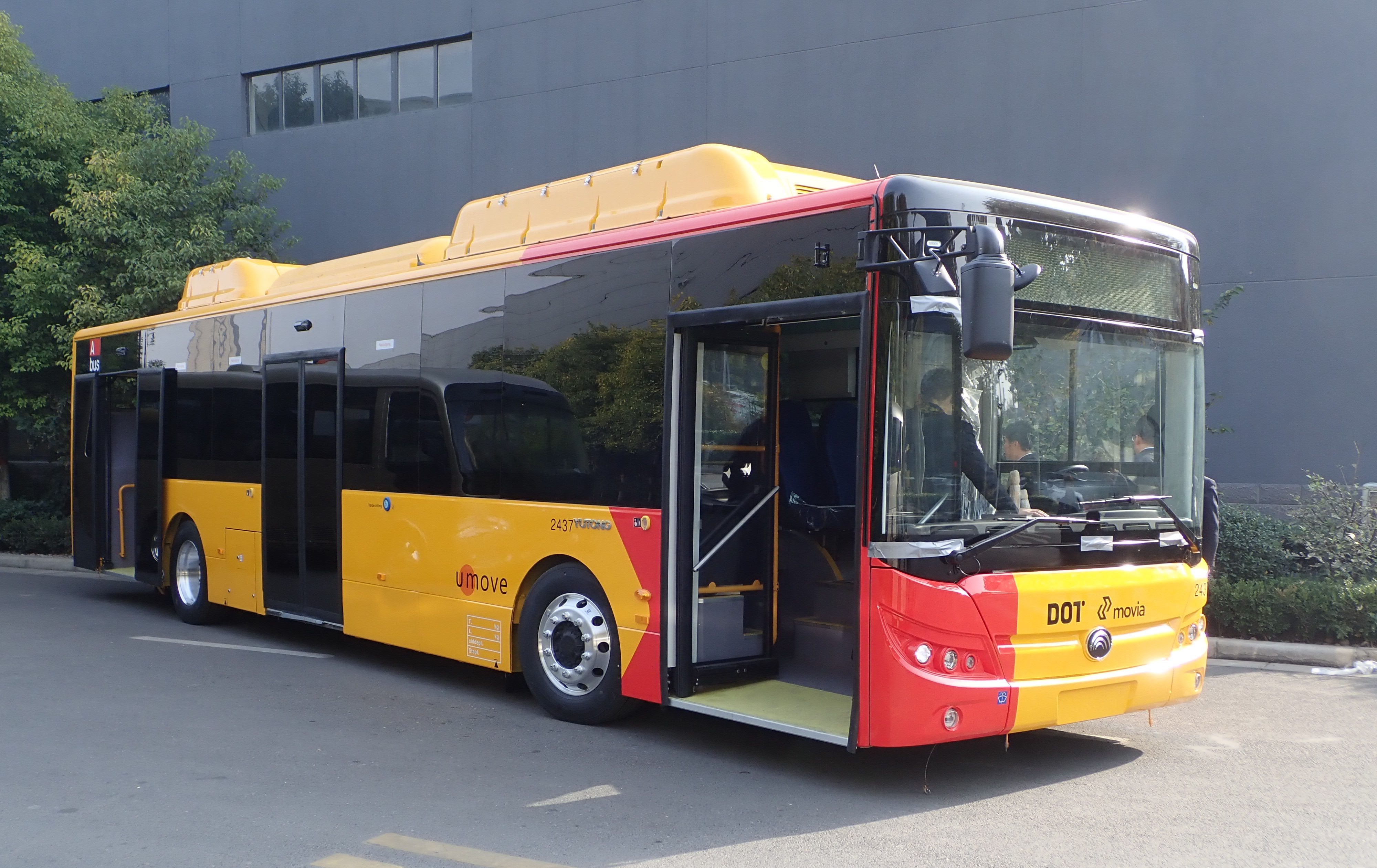 electric bus yutong