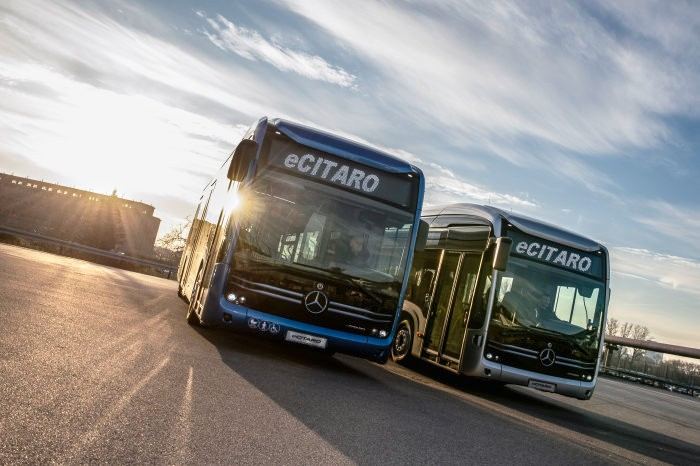 ecitaro mercedes electric bus