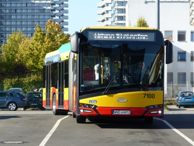 solaris urbino electric bus