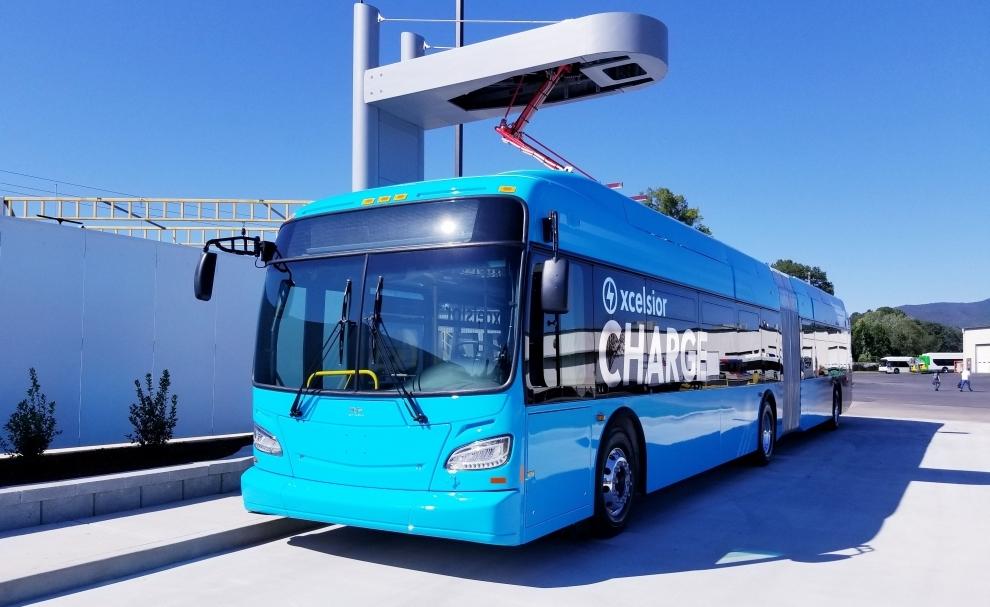 toronto ttc new flyer electric bus