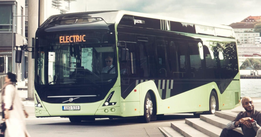 electric bus volvo