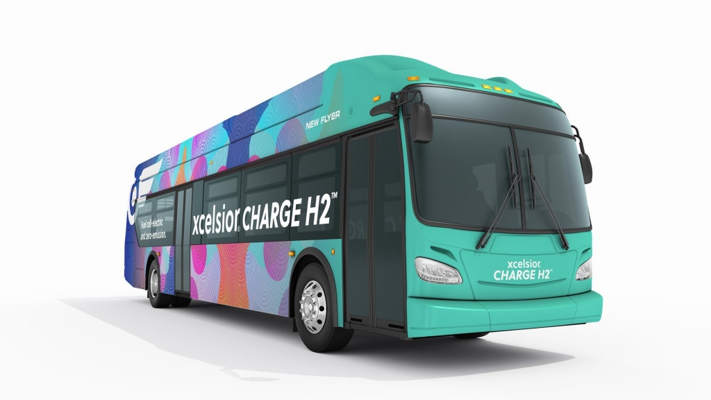 new flyer fuel cell bus