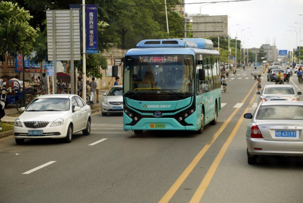 BYD bus Guangzhou