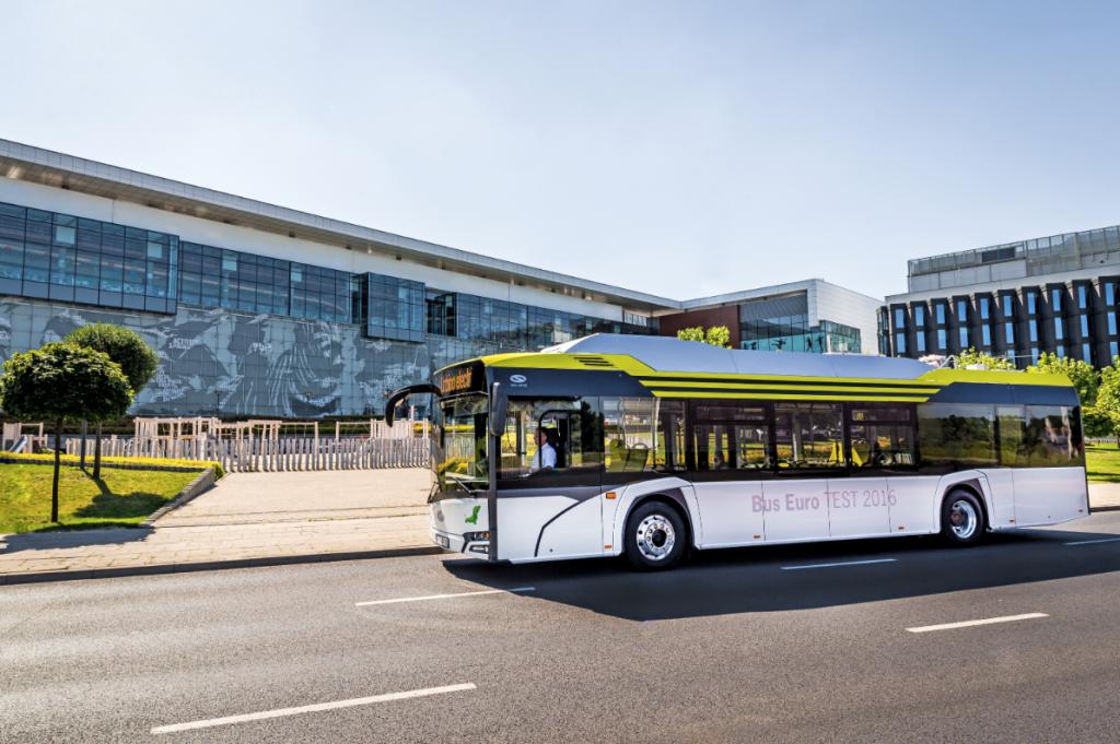 electric bus solaris