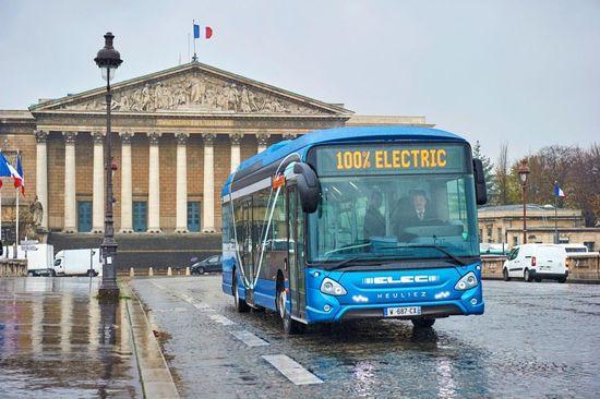 RATP electric bus