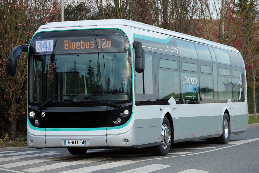 bollorè bluebus electric bus paris