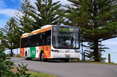 victoria melbourne hybrid bus