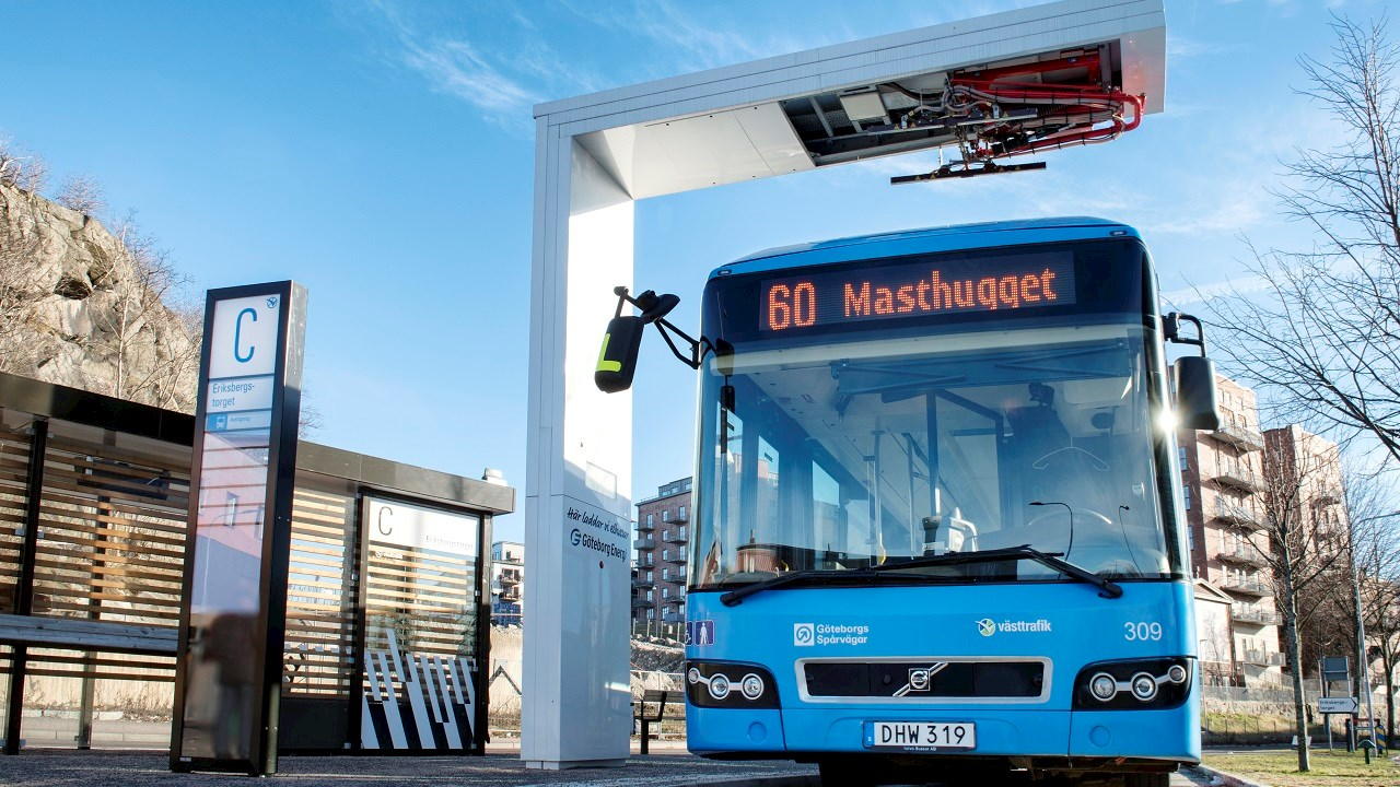 electric bus abb volvo