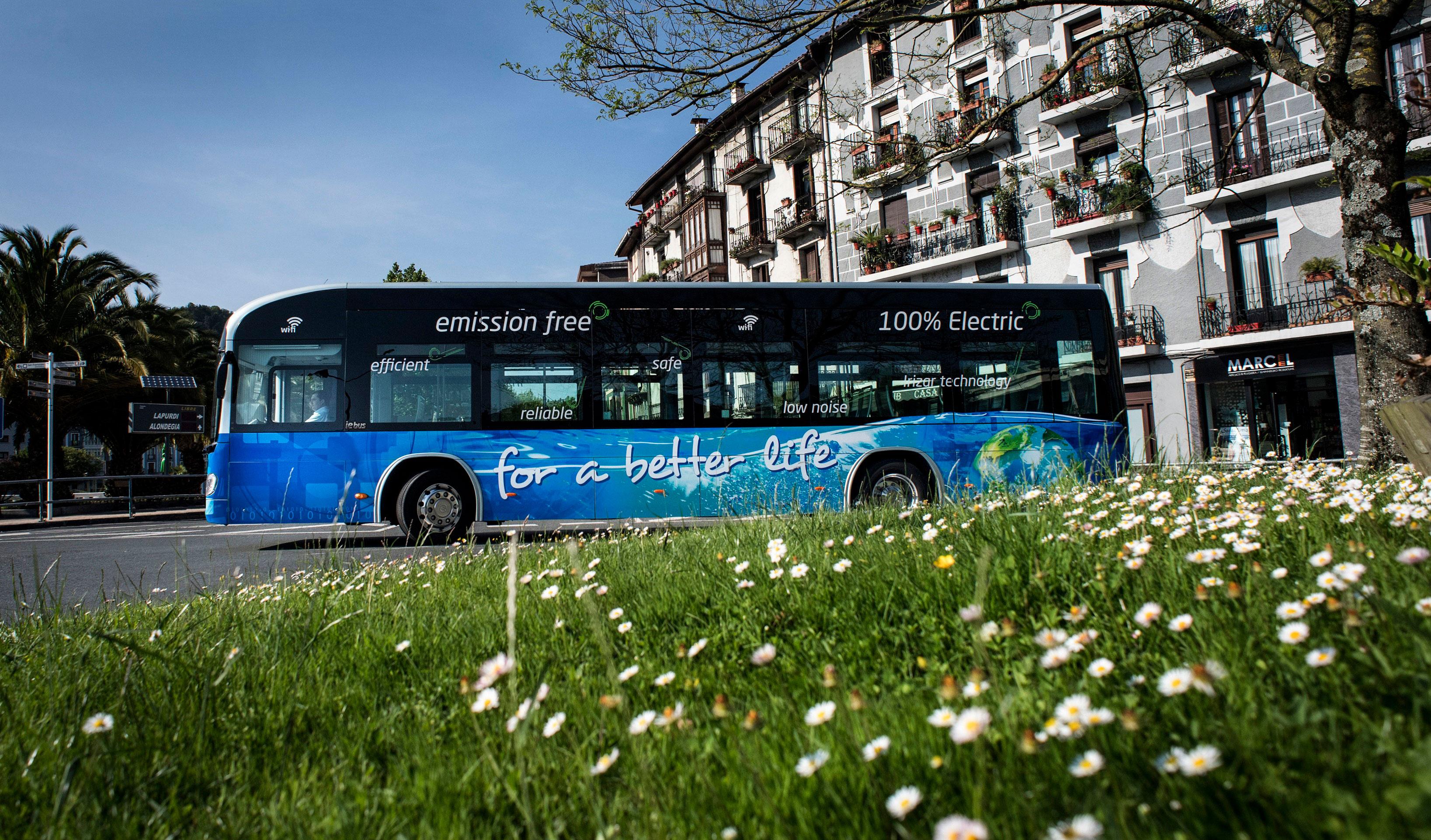 irizar zero emission bus