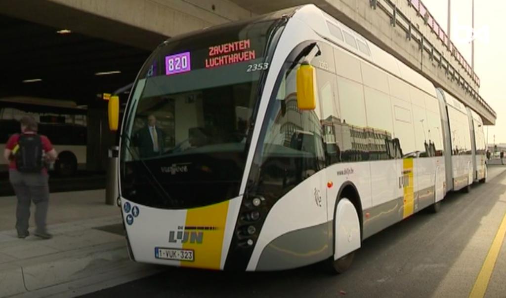 Van Hool hybrid trambuses