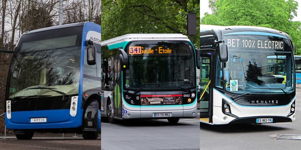 electric bus ratp paris