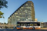 electric bus lithuania solaris