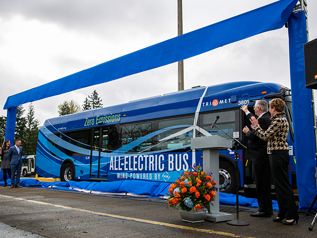 TriMet (Oregon) to test electric buses under real conditions. Five New Flyer Xcelsior Charge are coming