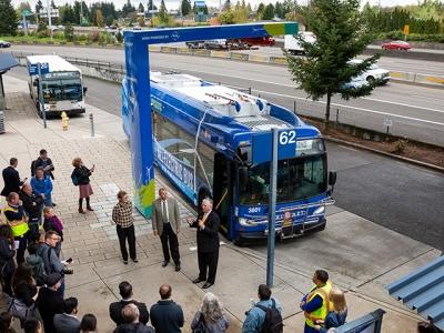 new flyer electric bus trimet oregon