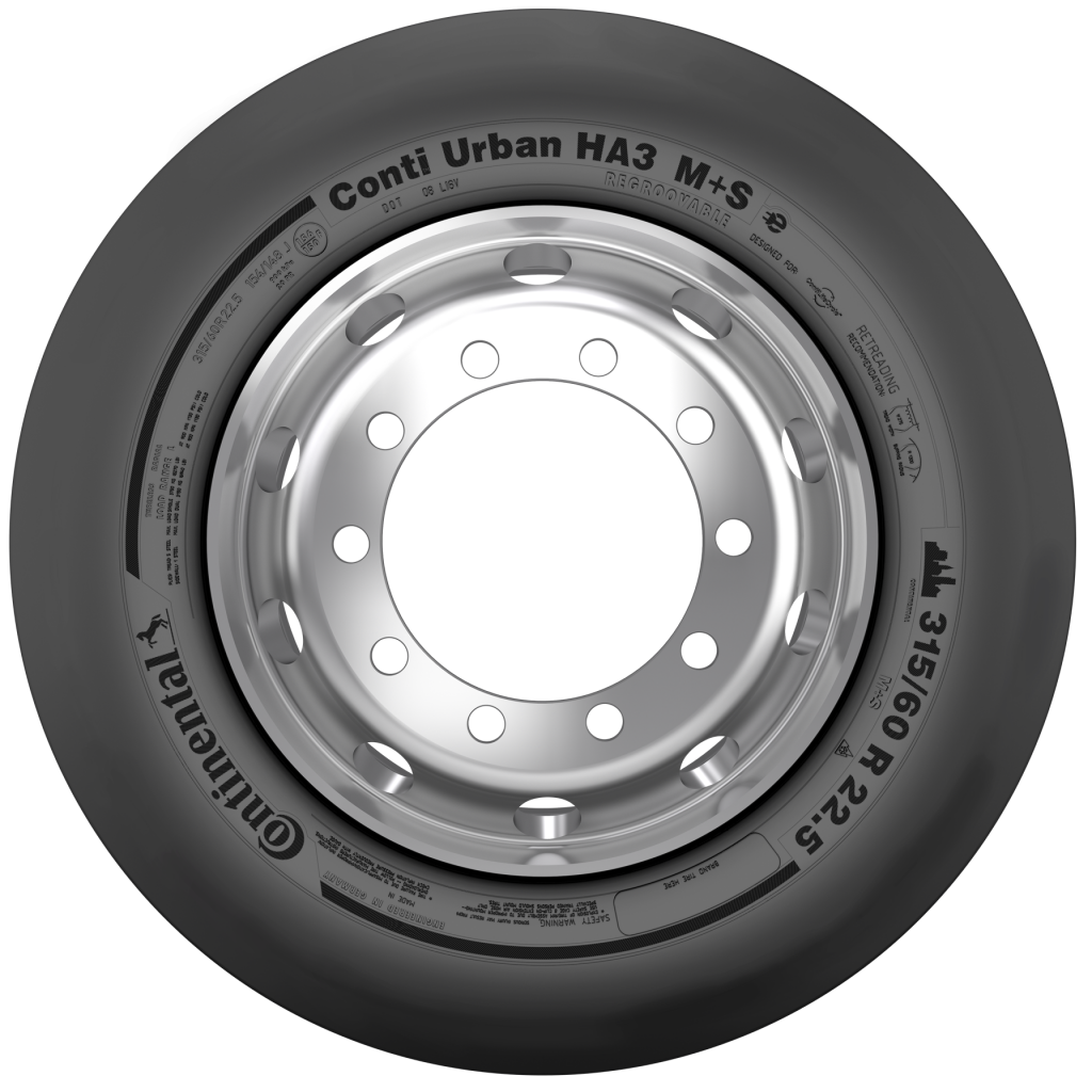 continental tire electric bus