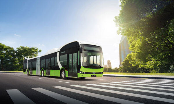 zero emission bus byd