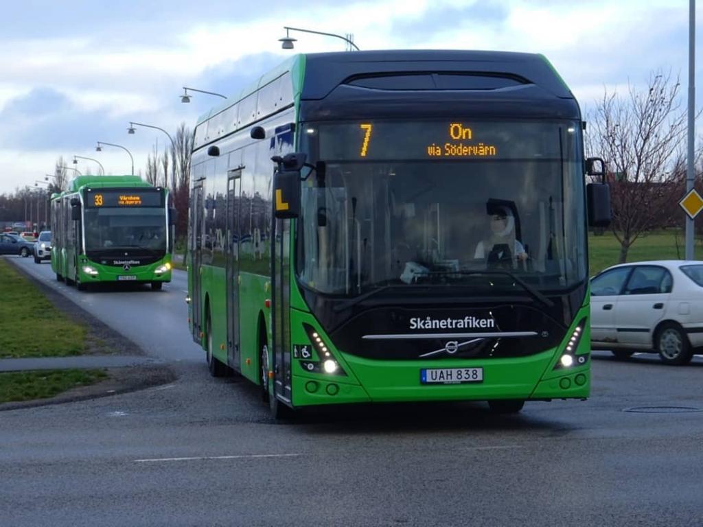 nobina electric bus