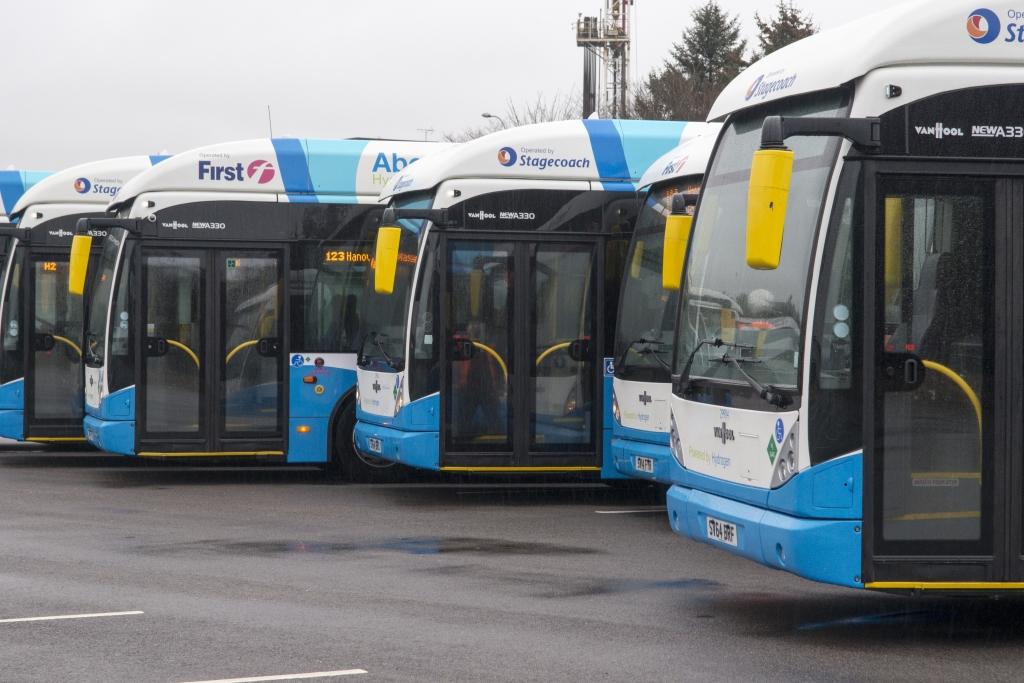 ballard hydrogen bus fleet
