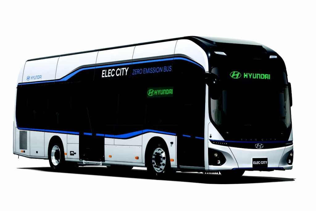 hyundai zero emission bus