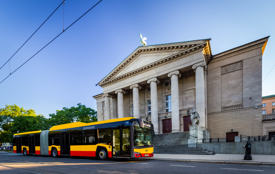 solaris gas-fuelled buses