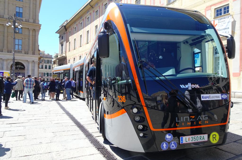 Genoa trolleybus
