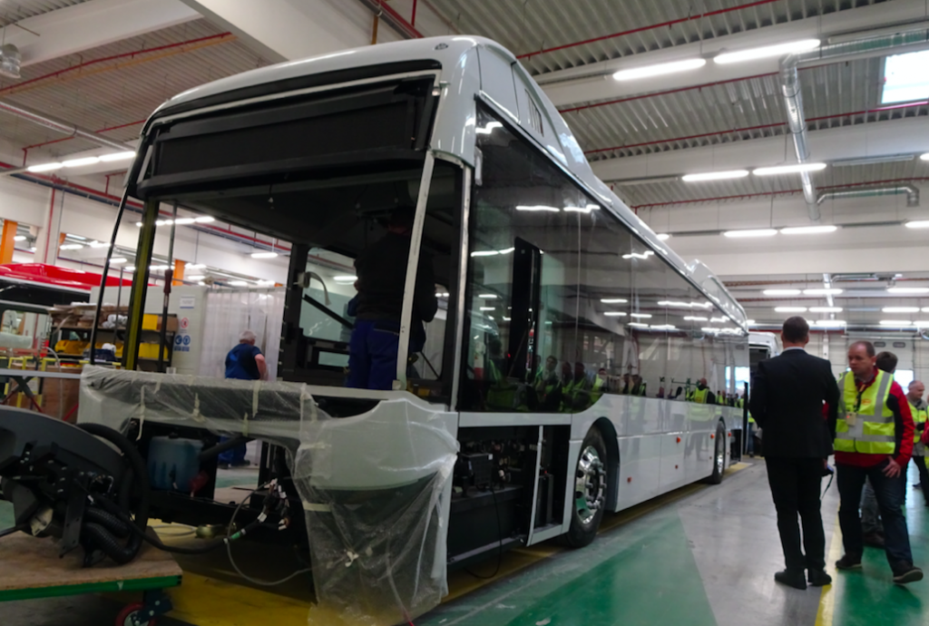 byd electric bus hungary