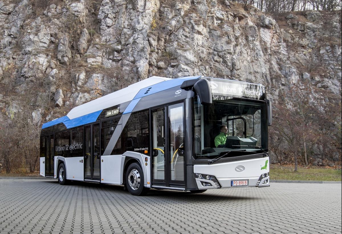 solaris electric bus