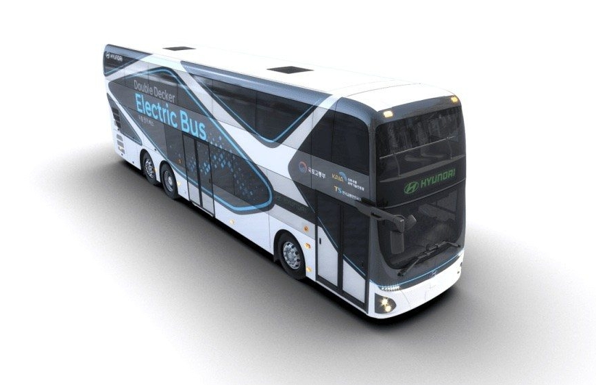 hyundai zero emission bus electric