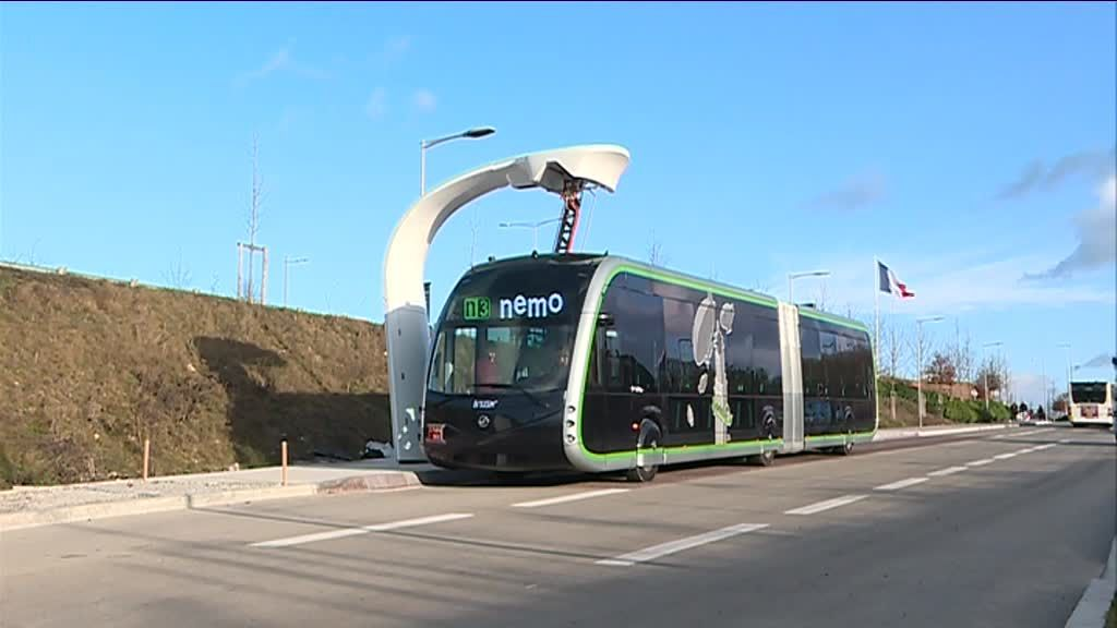 electric bus amiens nemo