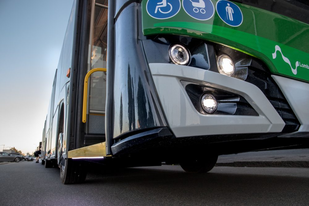 new trolleybus milan solaris trollino