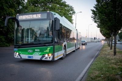 new trolleybus milan