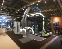 volvo electric articulated bus