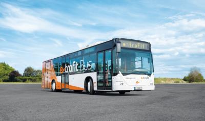 e-trofit diesel bus electric bus