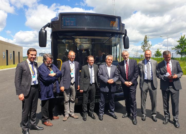 safra businova hydrogen bus