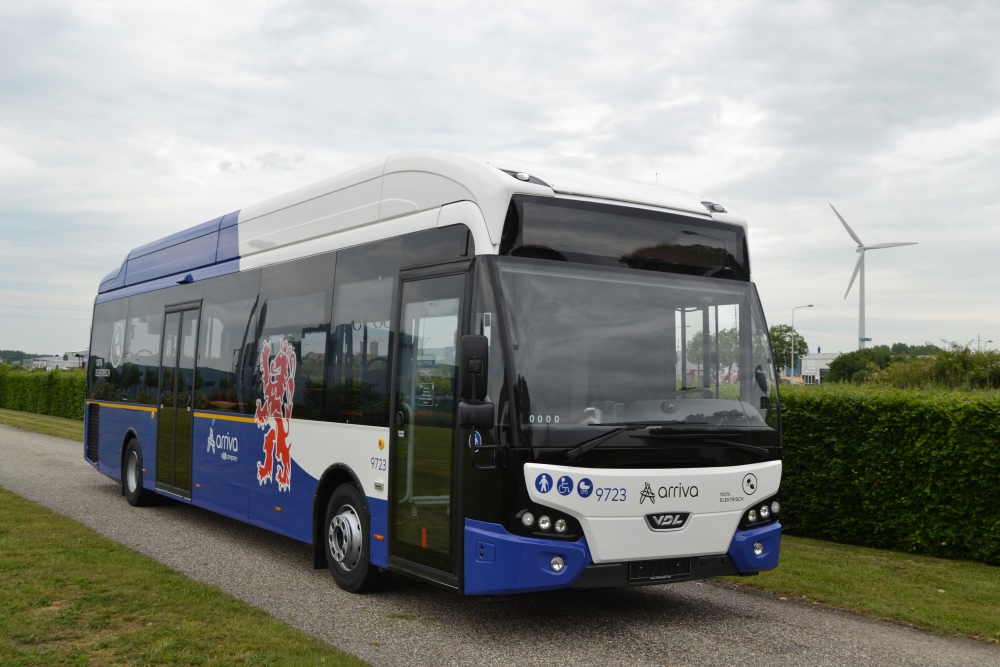 electric buses netherlands