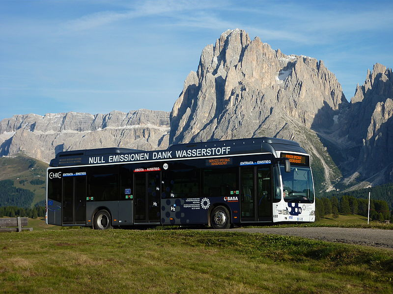 hydrogen bus bozen