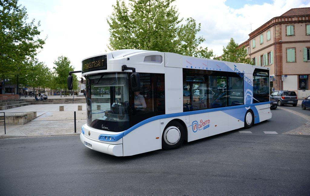 safra businova hydrogen bus