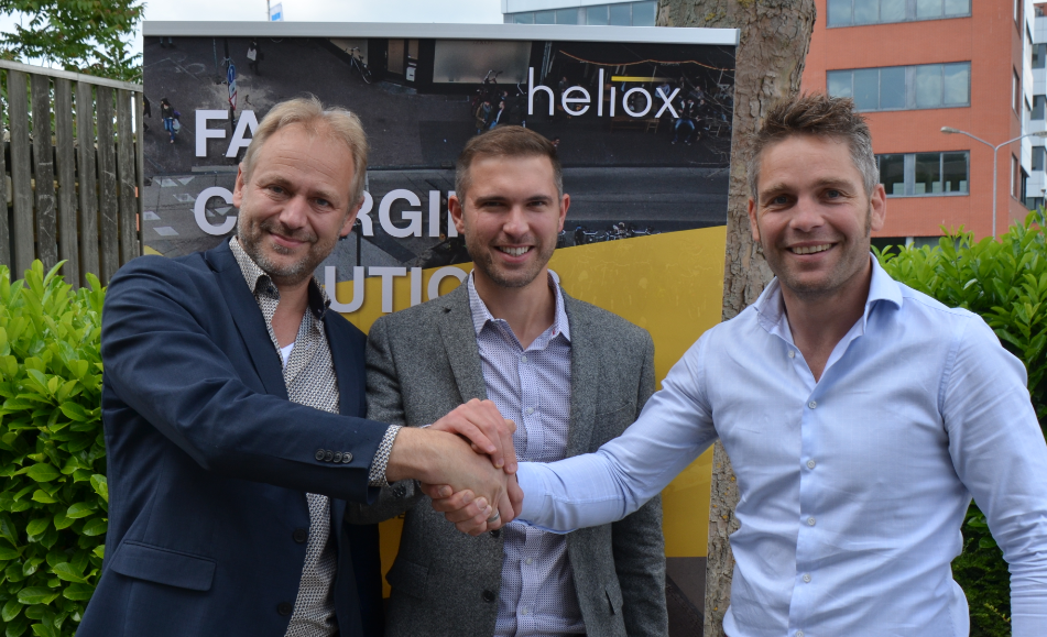 Heliox and InvertedPower to jointly work on a charging station with battery