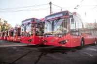 byd electric bus argentina