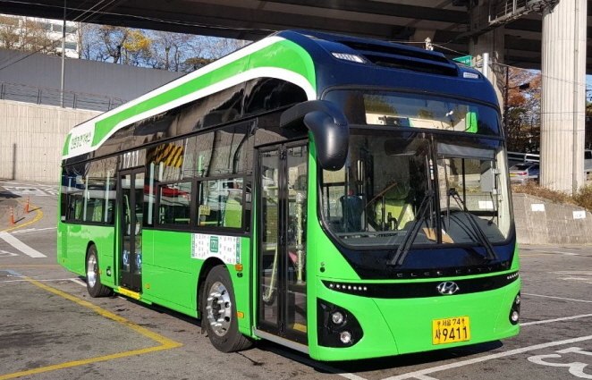 seoul electric bus south korea