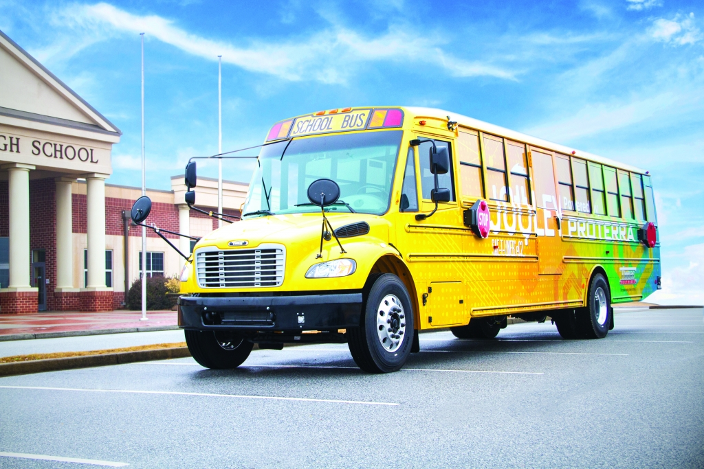 jouley electric school bus