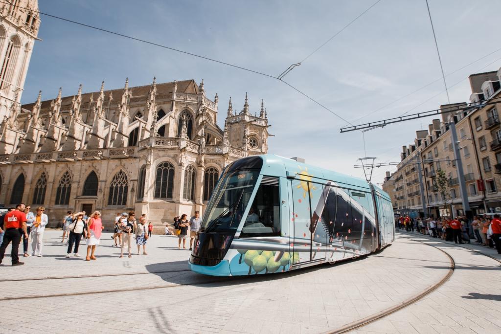 keolis tram caen