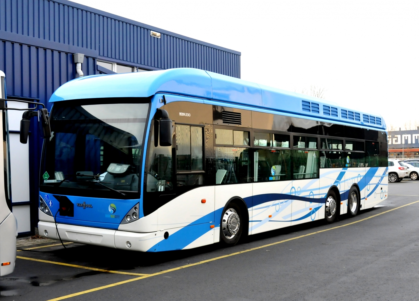 hydrogen bus groeningen
