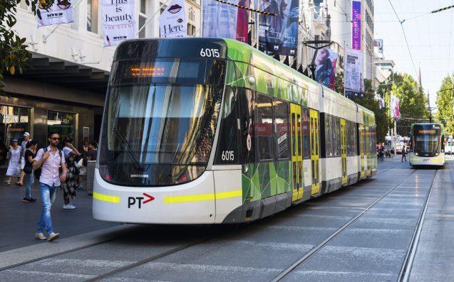 melbourne tram solar energy