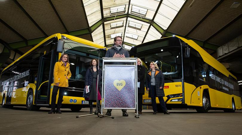 electric bus germany berlin