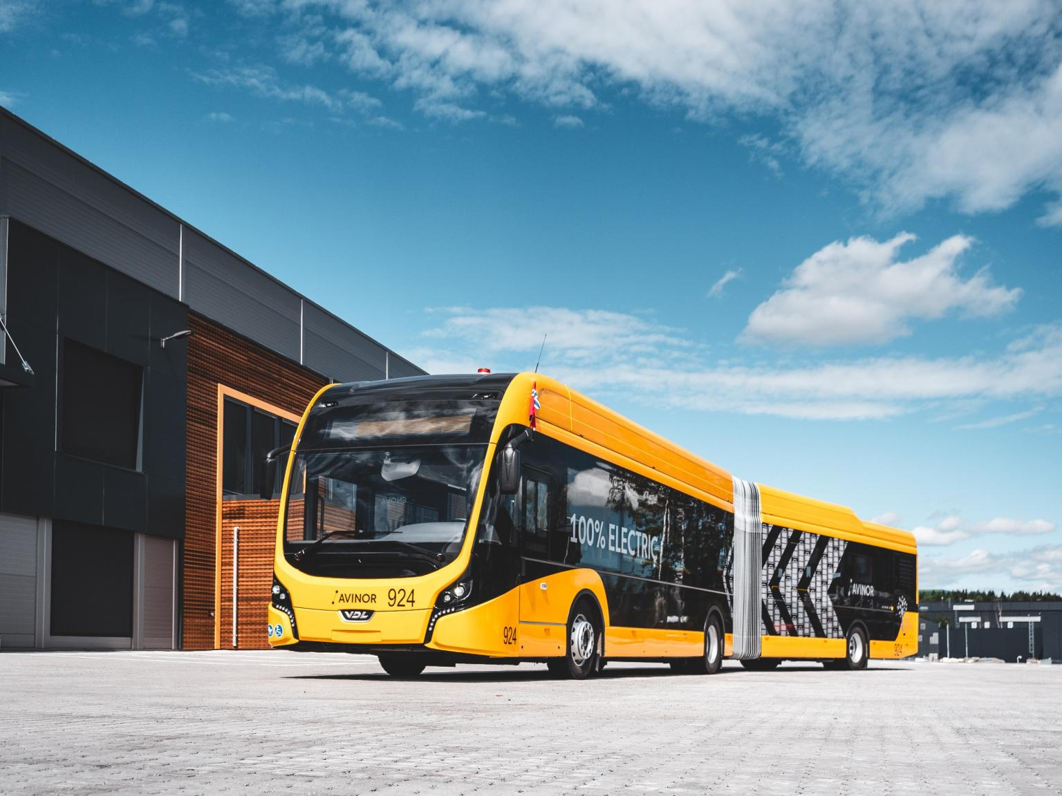 electric buses oslo airport