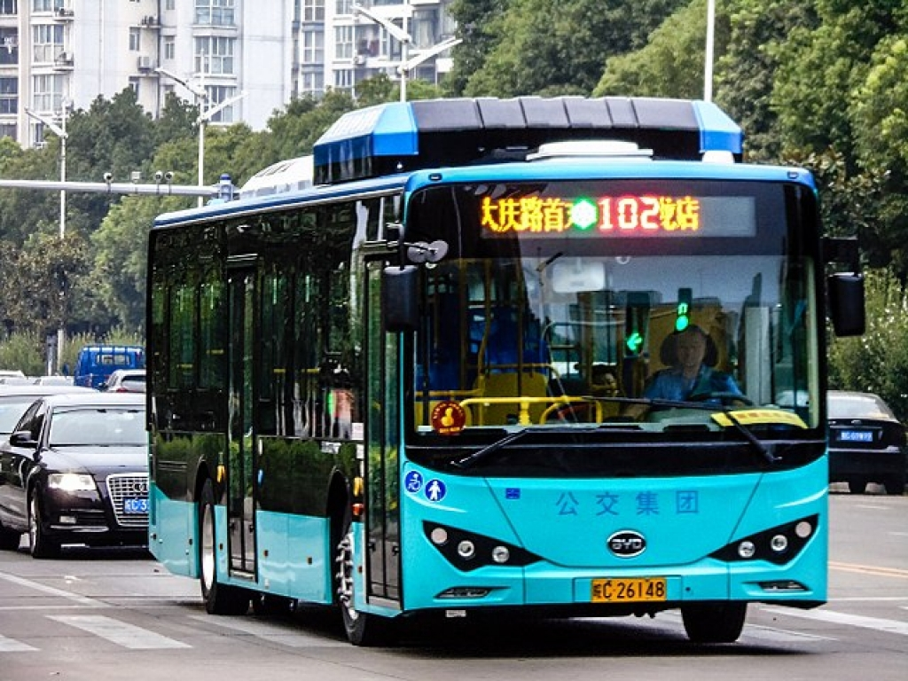 LFP in China, NMC in Western countries  Electric bus market