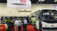 byd electric bus north america