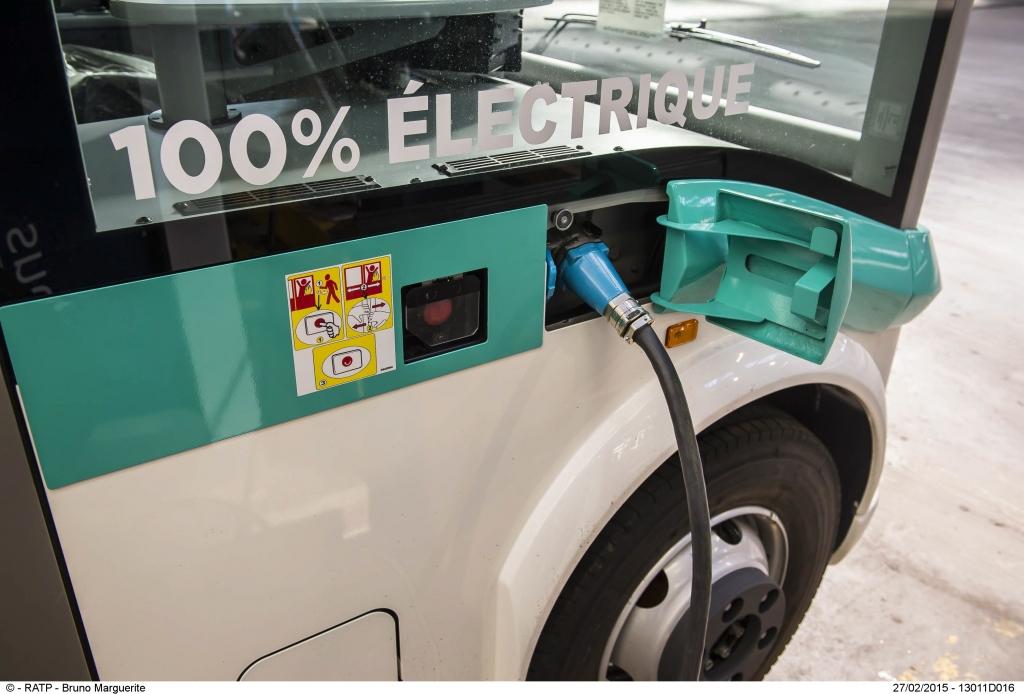 electric bus paris
